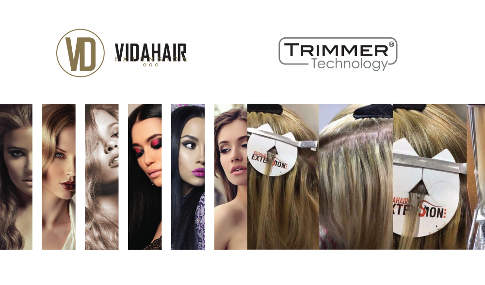 VIDAHAIR EXTENSIONS PATENTED TRIMMER TECHNOLOGY