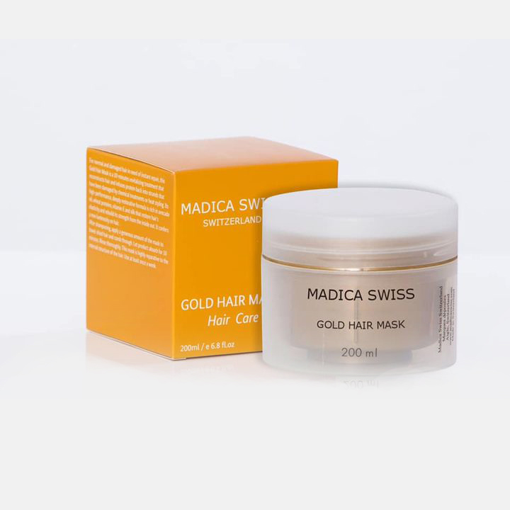 gold hair mask from madicaswiss